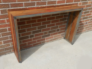 Wood Side Console